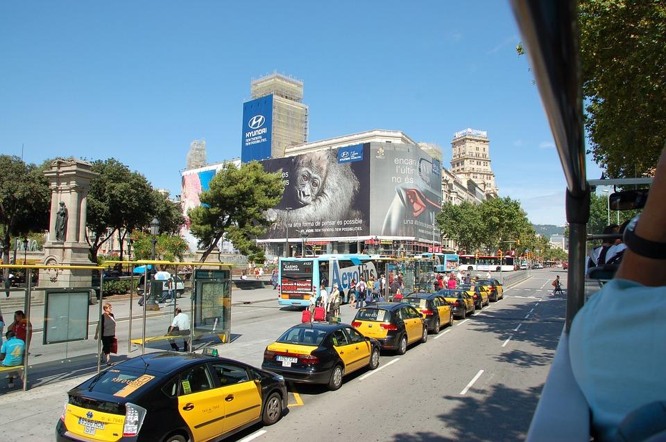 Barcelona Taxi Paradas