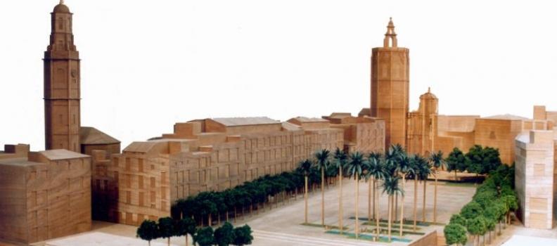 La nueva Plaza de la Reina de València contará con toldos y fuentes